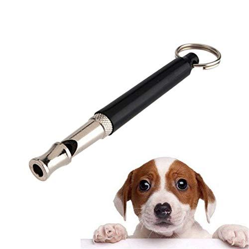 Semaxy 犬笛 サイレント ミニ 犬の訓練 トレーニング 調節ネジ 搭載 かわいい ワンちゃん ホイッスル キーリング ぶら下げ キーホルダー 吊るし しつけ 安全 小型犬 大型犬 犬 しつけ