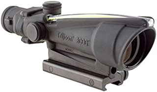 Trijicon TA11-D-100291 ACOG 3.5x35mm Dual Illuminatedx 40mm, Chevron M193 Reticle with TA51 Mount, Black