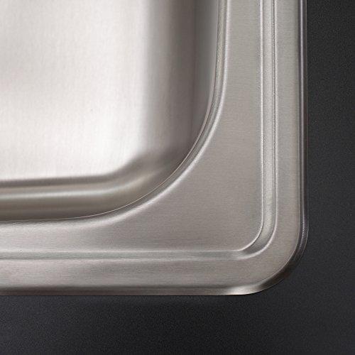 Kraus KTM32 Premier Kitchen Sink, 33-Inch, Double Bowl 60/40