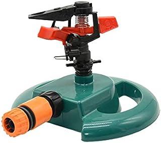 YISENMIAO Adjustable Garden Lawn Sprinkler With Nozzle Holder Rotating Water Sprinkler Rocker Nozzles Garden Greenhouse Wa...