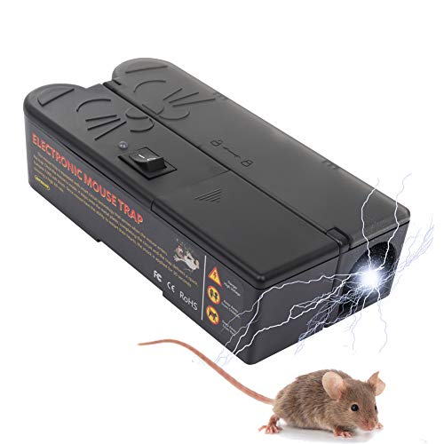 Suminey Electronic Reusable Mouse Trap for Indoors and...