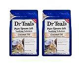 Best Buy Epsom Salts - Dr Teals Coconut Oil Pure Epsom Salt Soaking Review