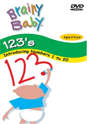 Brainy Baby Teach Your Child 123s DVD Numbers 1 to 20 Classic Edition