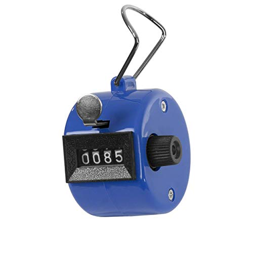 Handzähler Tally Counter 4-stellig, mechanisch, bunt