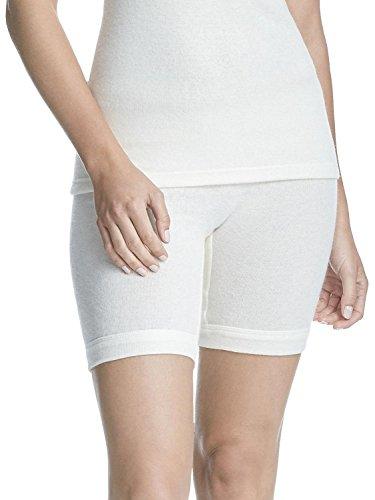 Susa Damen Angora Normalbeinschlüpfer s8050890 Funktionsunterwäsche, Weiß (wollweiß s115), 48 (Herstellergröße: XL)