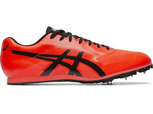 ASICS Unisex Hyper LD 6 Track & Field Shoes, 9W, Sunrise RED/Black