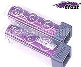 EFEST 2500 mah 35A IMR Batteria singola piatta ad alto drenaggio (2 in un pacchetto) per Starter Kit sigaretta elettronica e MOD