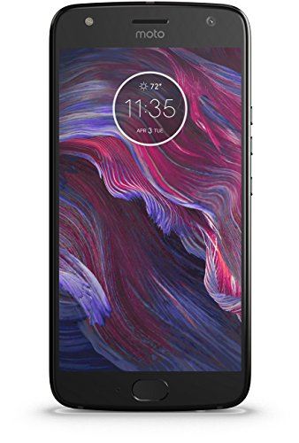 Motorola Moto X4 (Super Black, 32GB)