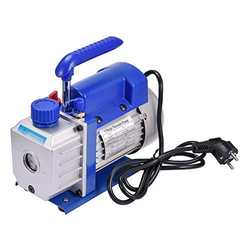 Vakuumpumpe,klimaanlage T4 CFM Freier Abfluss Halter Geräuscharmes Beobachtungsfenster 5 Pa 220 Ml Klimadruckmaschine, Vakuumverpackung