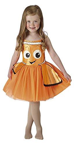 Hasbro-Buscando a Nemo - Disfraz Nemo Tutu Classic, talla S (RUBIS SPAIN, S.L. 620784-S)