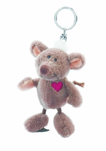NICI 32347 - Llavero de Peluche de ratón con corazón de 10