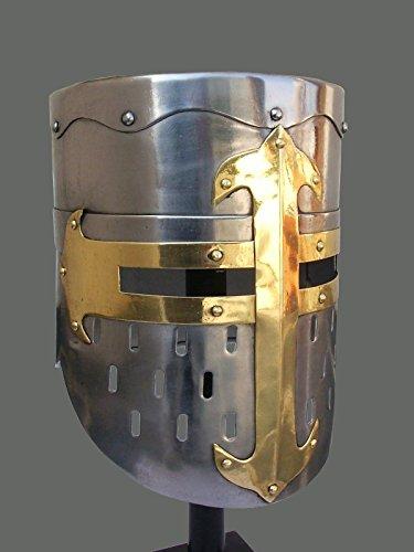 Mittelalter-Ritter-Helm,/re/enactment larp Rollenspiel/fancy dress