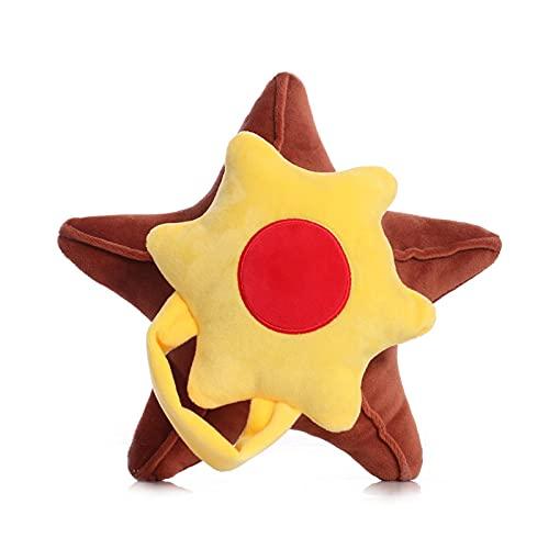 Pokemon Starfish Peluches, Almohada para Abrazar De Algodón De Peluche Suave De Primera Calidad, Lindos Peluches De Starfish Peluches, Regalos De Cumpleaños para Niños, Bebé (23Cm)