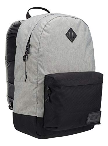 Burton Kettle Zaino, Unisex – Adulto, Gray Heather, NA