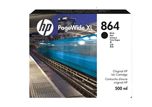 HP 864 500 ml Negro PageWide XL Ink Crtg