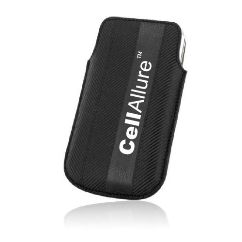 Cellallure Universal Funda para iPhone – 1 Pack – empaquetado al por Menor – Negro