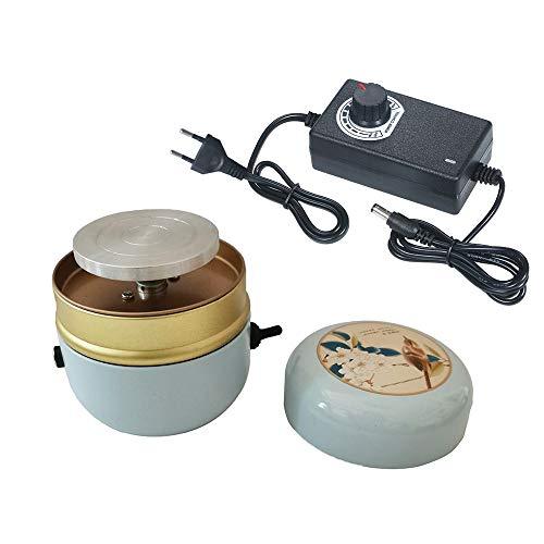 YGLONG Torno De Alfarero Mini Máquina de cerámica Máquina de cerámica eléctrica...