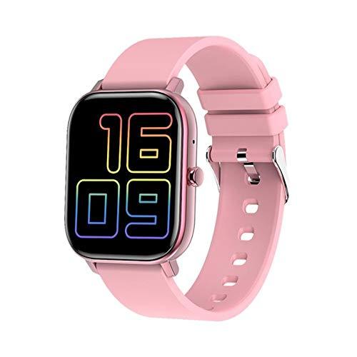 XXH Smart Watch GW22 Deportes multifuncionales, Masculina y Femenina Llamada Bluetooth 1.6 Pulgadas Pantalla de presión Arterial Monitor de Lujo Boutique Regalo para Android iOS,C
