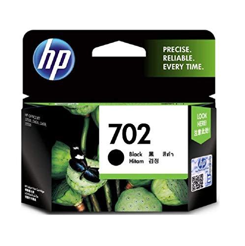 HP 702 Black Ink Cartridge CC660AA 702 Bk
