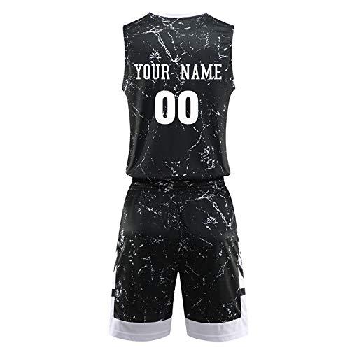 Custom Basketball Jerseys Set Men Camouflage Youth Basketball Uniform Team Training Tracksuit