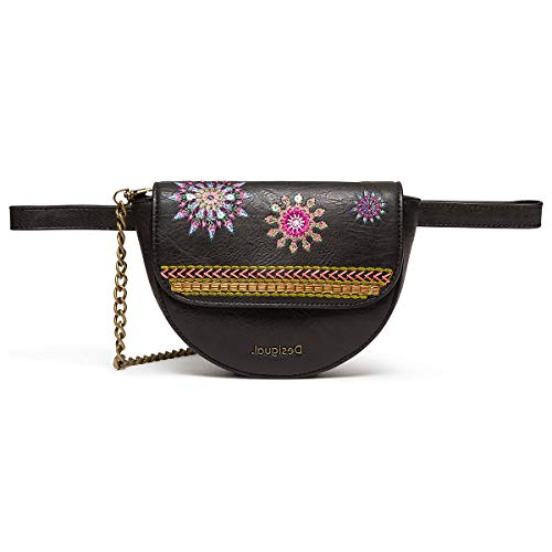 Desigual Ada Nyon Belt Bag Marron Oscuro