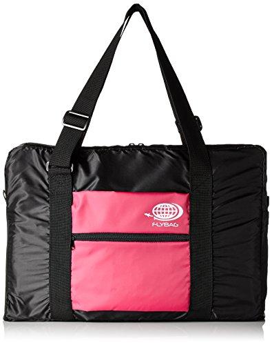 折り畳みボストンバッグ トラベルバッグ キャリーに通せる フォールディングバッグ FB-01PK (ピンク)