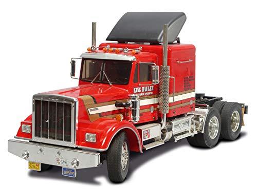 TAMIYA 56301 1:14 King Hauler, Bausatz zum Zusammenbauen, RC Truck, fernsteuerbarer, Lastwagen, LKW,...