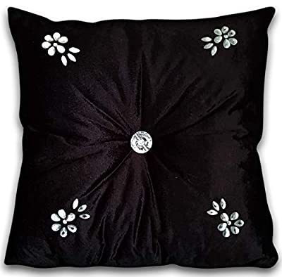 Other kylie minogue style Cushions velvet Diamant? Chic Filled Scatter Cushion square