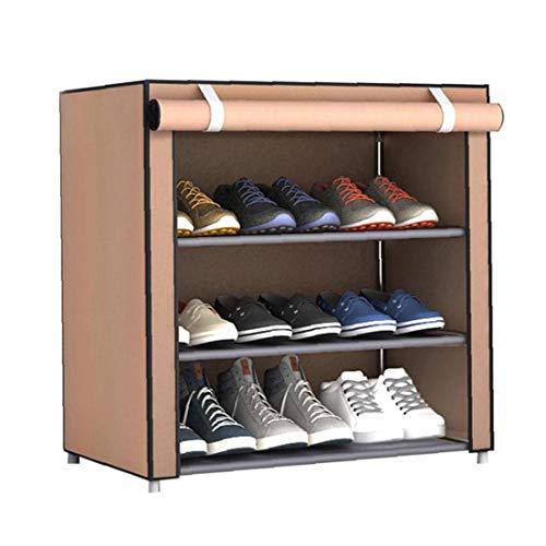 Nicedier La Tela no Tejida Zapatos Rack Zapatos Organizador habitación Dormitorio artículo Shoe Bastidores de Hogares