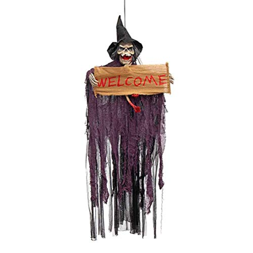 Esqueleto de Halloween con ojos rojos