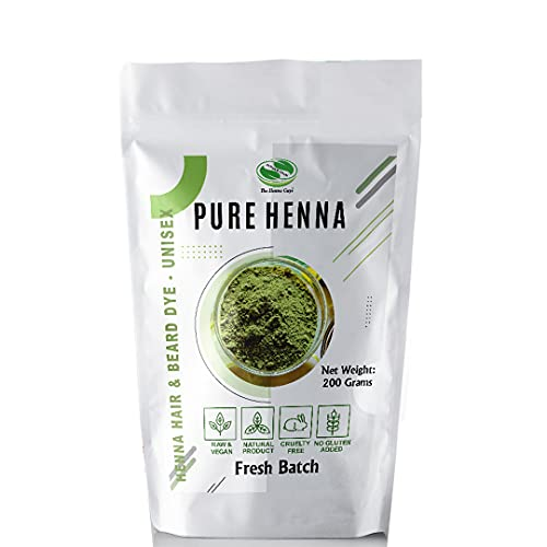 100% Pure Henna Powder For Hair Dye - Red Henna...