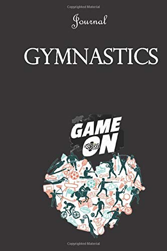 Gymnastics Journal  Sports Collection Journals: 6x9 inch Lined journal or diary or notebook to write ideas, study and make plans from Sabji Journals