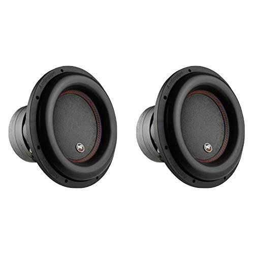 AudioPipe Sub-BDC4-12D2 12-Inch Subwoofer Dual 2 Ohm 1100 Watt RMS Car Audio (2 Pack)