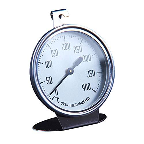 Ofenthermometer großes Zifferblatt mit schwarzer Anzeige Backen Spezial Messthermometer