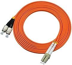 LC/SC/FC/ST 62.5/125 Duplex Multimode 3.0mm Fiber Optic Patch Cable (15m, LC-FC)