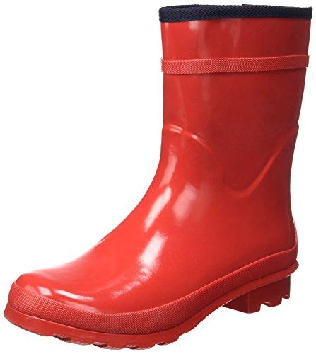 Superga 791-Rbrw Gummistiefel für Damen, Rot - rot - Größe: 37 EU