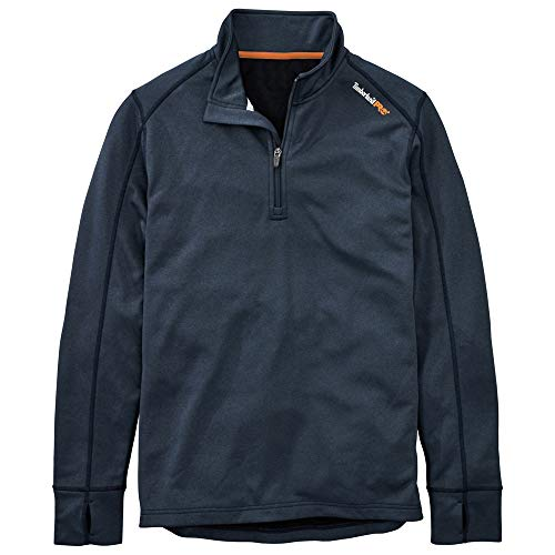 Timberland PRO Men's A112J Understory Quarter-Zip Fleece - Medium - Navy Heather