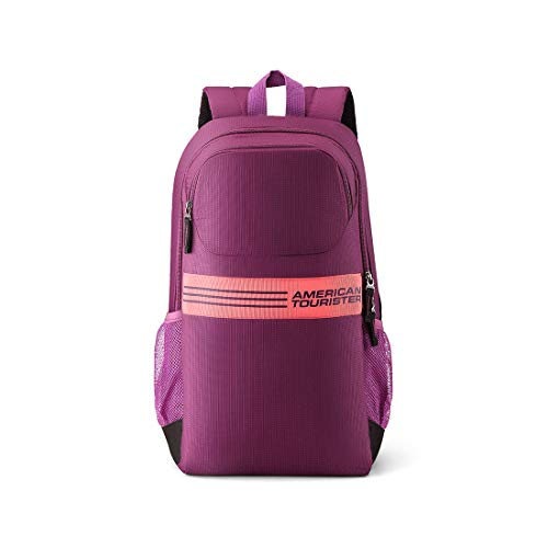 American Tourister Ace 22 Ltrs Magenta Casual Backpack (FK3 (0) 50 101)