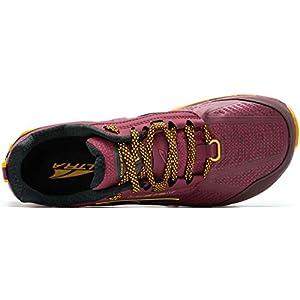 ALTRA Women's ALW1855L Lone Peak 4 Low RSM Trail Running Shoe, Beet Red - 9 M US