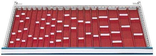 Schubladeneinsatz Serie 1000 Muldenplatten mit Mulden Schubladenschränke Schubladeneinsätze