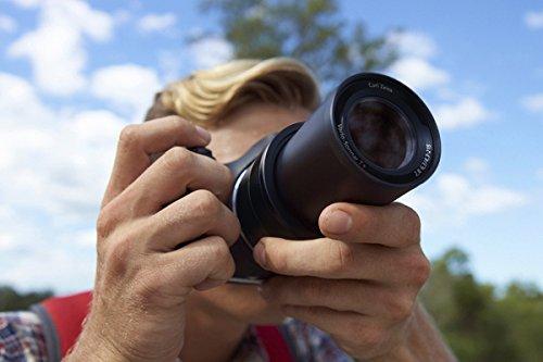 zoom en una cámara bridge