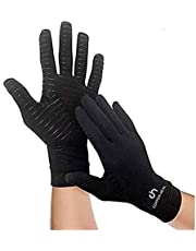 COPPER HEAL Arthritis Compression FULL Hand Gloves - Copper Glove - Rheumatoid Arthritis, Carpal Tunnel, RSI Osteoarthritis & Tendonitis Full Hand Fingers
