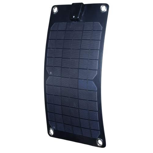 Nature Power 56802 5-watt Semi-Flex Monocrystalline Solar Panel Battery Maintainer, 12-volt
