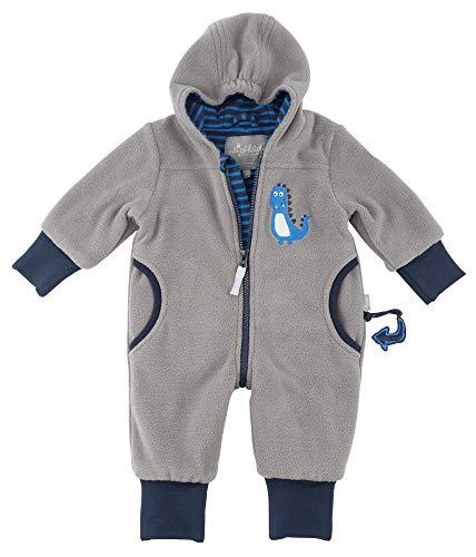 Sigikid Baby-Jungen Fleece Overall, Schneeanzug, Grau (Grau (Titanium 2) 2), 62
