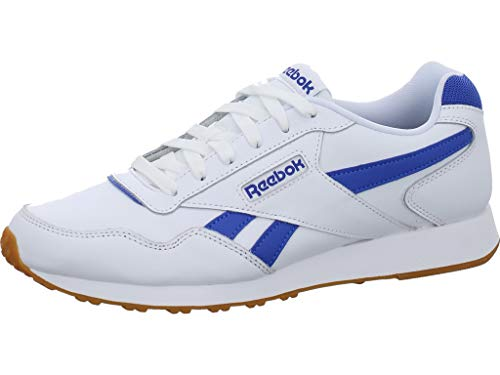 Reebok Royal Glide LX, Zapatillas de Trail Running para Hombre, Multicolor (White/Crushed Cobalt/Gum/SS 000), 43 EU