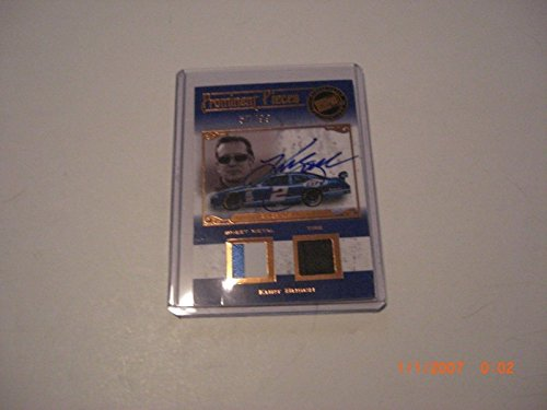 Kurt Busch 08 Press Pass Legends Pp Tire,sheet Metal Auto 57/99 Signed Card - NASCAR Autographed Race Used Items