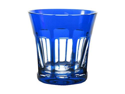 Cristal de Sèvres Verre sévres – Verre de Whisky Segovie t.299 Bleu Cobalt