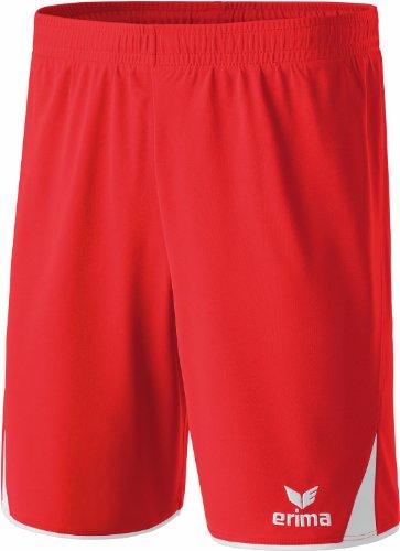 Erima Shorts 5-C Short Enfant Rouge Rouge/Blanc FR : XS (Taille Fabricant : 152)