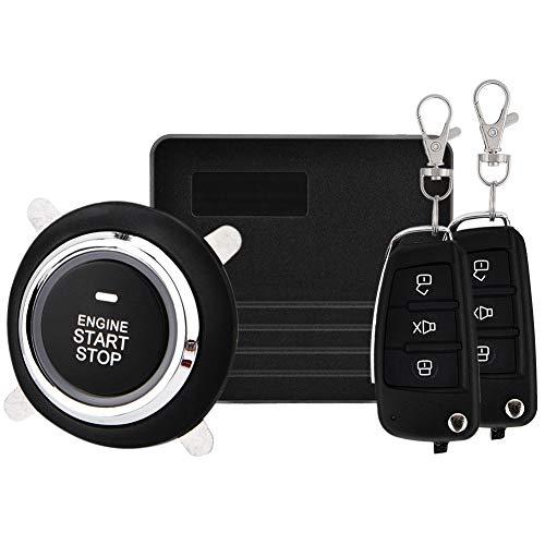 Sistema de seguridad antirrobo de Coches vehículo,alarma para coche sin hilos Función antirrobo y antiladrones (Key 1)