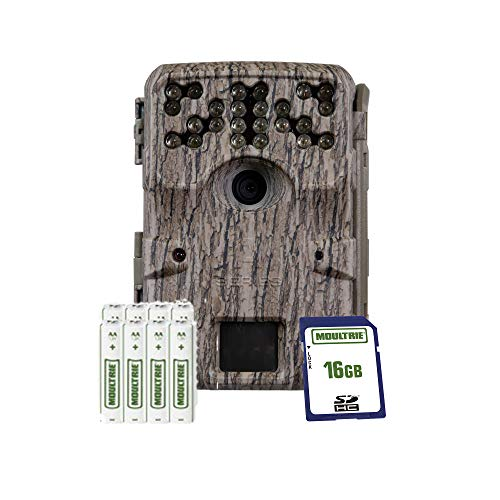 Moultrie AM-900i Trail Camera Standard Invisible Flash Kit, Moultrie White Bark Camo